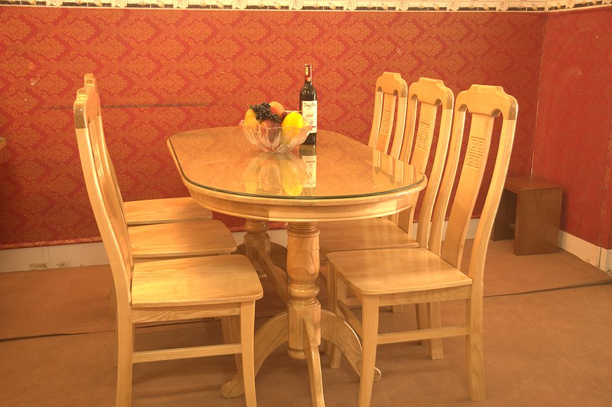 Mẫu bàn ăn bằng gỗ đẹp