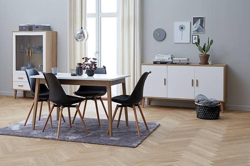 Mẫu bàn ăn đẹp, hiện đại phong cách châu Âu