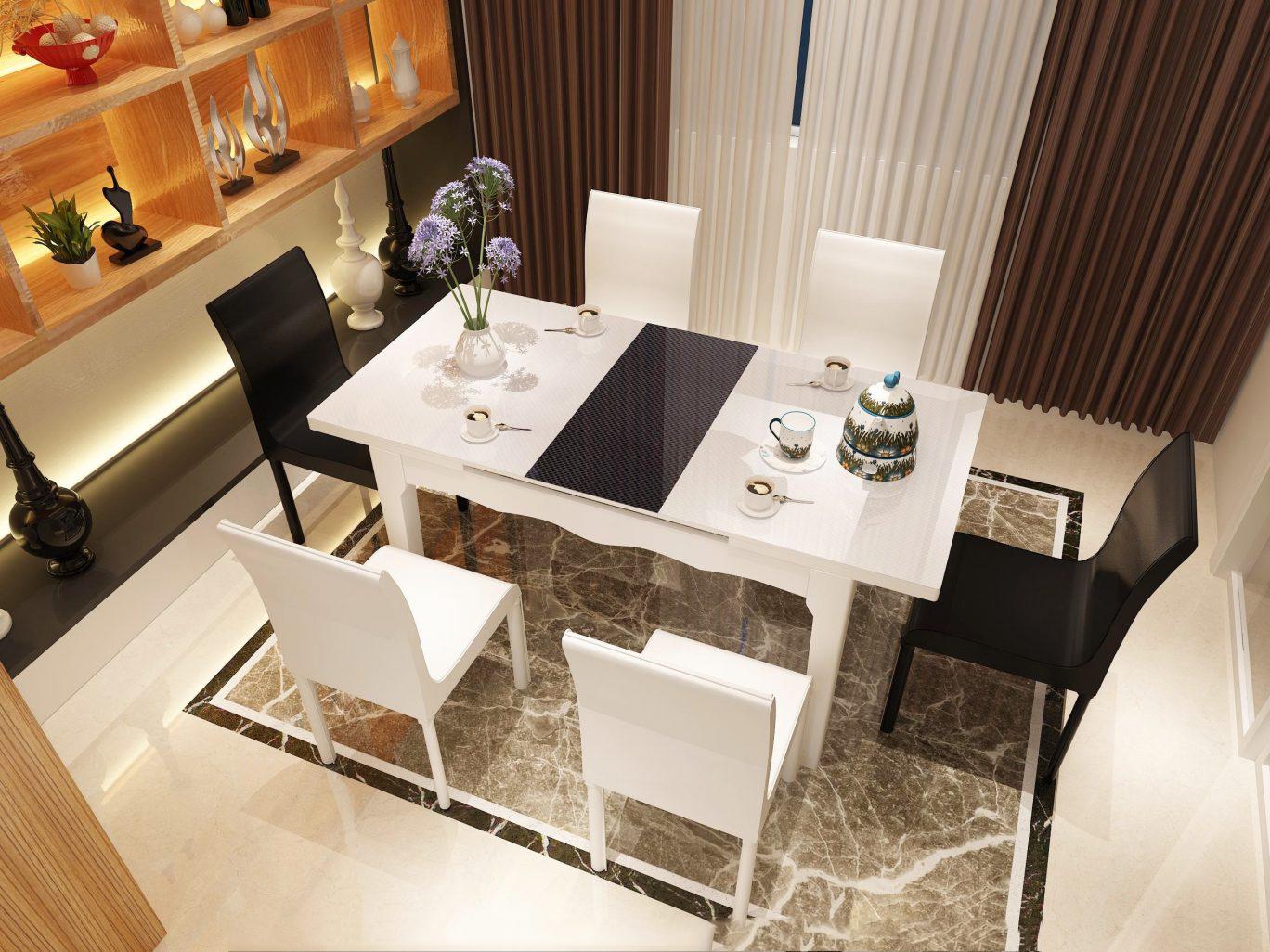 Mẫu bàn ăn đẹp, sang trọng